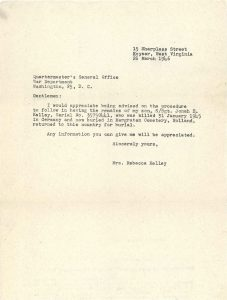 war-department-letter
