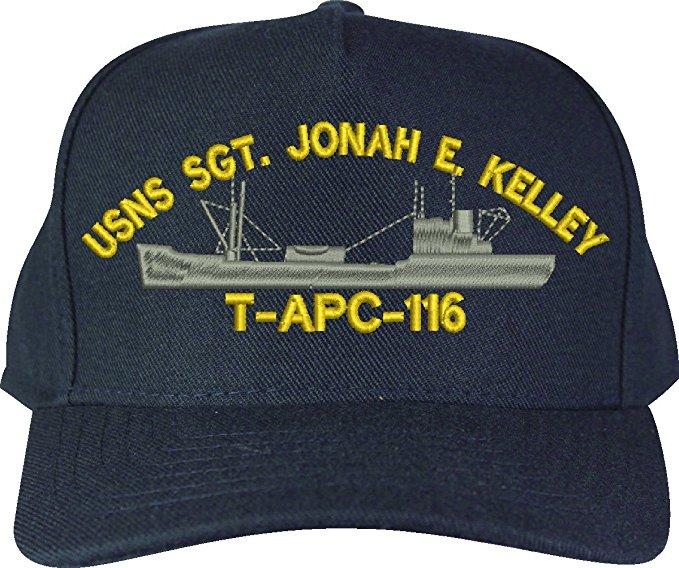 SGT. Jonah E. Kelley (T-APC) Class Ship Cap