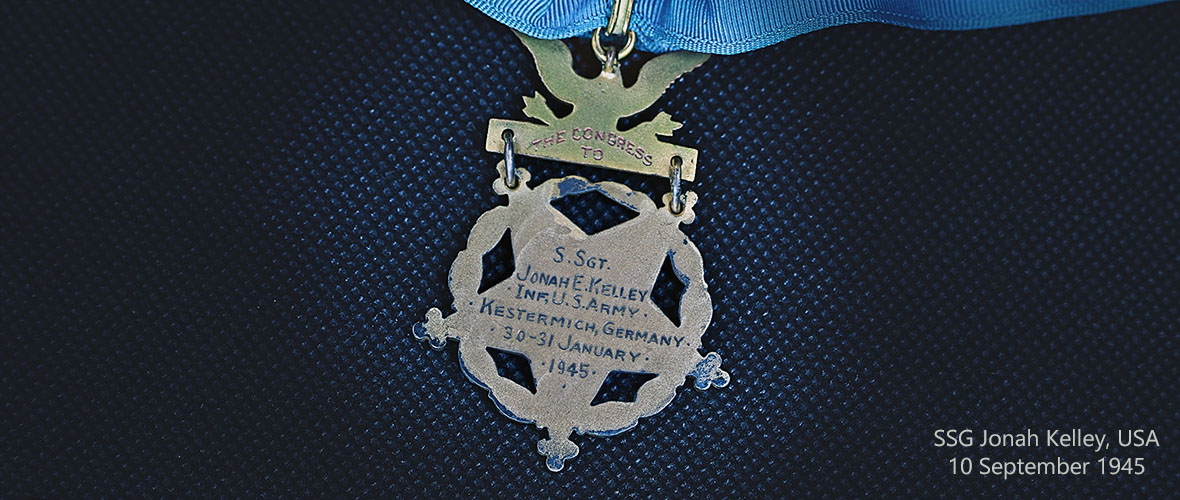 Medal of Honor - Reverse Side